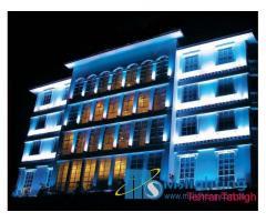 نورپردازی نمای ساختمان ، فروش محصولات نورپردازی و روشنایی
